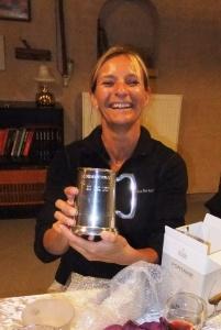 2015 Torsdagsklubben Susan den glade klubmester 2012