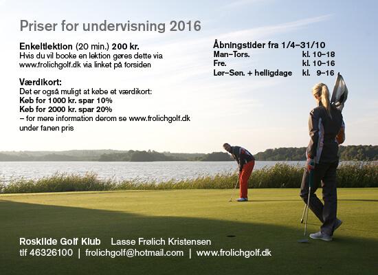 2016-05 Frolich Golf - priser